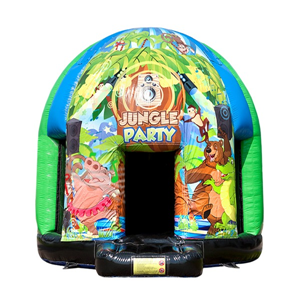 Springkussen Disco Jungle